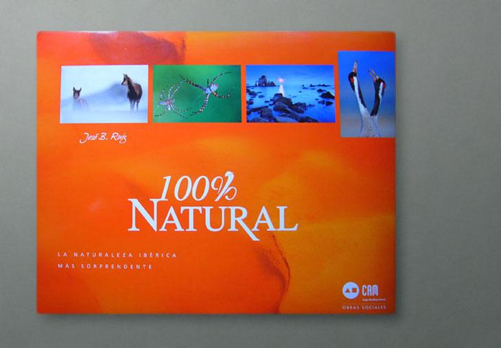 Libro 100% Natural. José Benito Ruiz