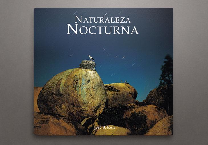 Libro Naturaleza Nocturna. José Benito Ruiz